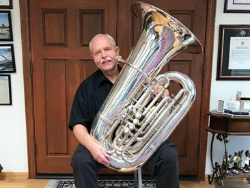 In the Pit: Jim Self - Blockbuster Tuba